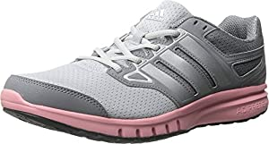 adidas Performance Women's Galactic Elite Women's Running Shoes,Grey/Silver/Super Pop,8 M US