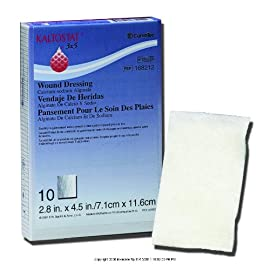 KALTOSTAT Alginate Dressing, Kaltostat Drs 4 X 8 in, (1 BOX, 10 EACH)