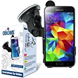 Celicious Fit-In support voiture avec ventouse pour Samsung Galaxy S5