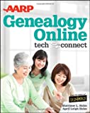 img - for AARP Genealogy Online: Tech to Connect by April Leigh Helm (2012-07-03) book / textbook / text book