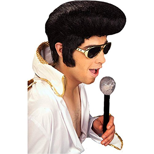 Rock N Roll Elvis Costume Wig - One Size