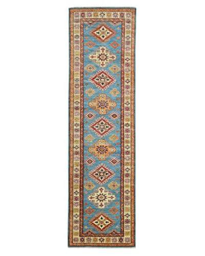 "Kalaty One-of-a-Kind Kazak Rug, Blue, 2' 8"" x 11' 2"" Runner"