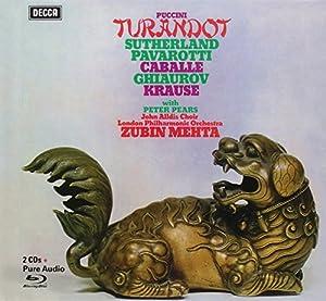 Puccini: Turandot [2 CD/Blu-ray Audio Combo]