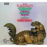 Z. Mehta - Puccini: Turandot ( Livre Disque 2CD+BR Audio - Tirage Limité)