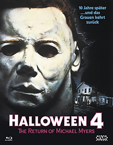 Halloween 4 (Blu-Ray) Hartbox - Limited 150 Edition Cover A