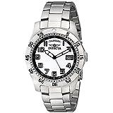 Invicta Men's 5249W Pro Diver Stainless Steel White Dial Watch ~ Invicta