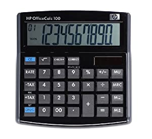 Hewlett Packard Officecalc 100 Desktop Calculator