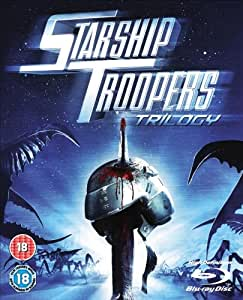 Starship Troopers Trilogy (Starship Troopers/Starship Troopers 2 - Hero Of The Federation/Starship Troopers 3 - Marauder) [Blu-ray] [Region Free]