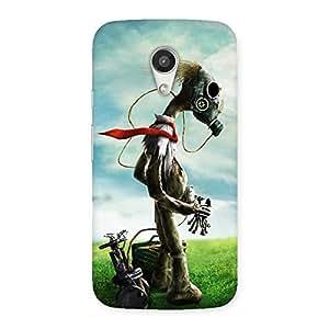 Impressive Guy Weird Back Case Cover for Moto G 2nd Gen