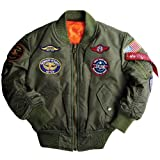 Youth M A1 Jacket W/Patches