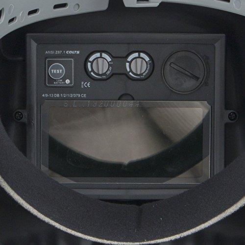 ARKSEN-Auto-Darkening-3D-Red-Skull-Welding-Helmet-Adjustable-ANSI-CE-Certified-Red