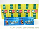 Zig Zag Blue Papers and Swan Extra Slim Filters 600