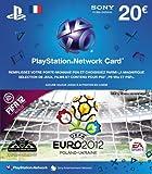 echange, troc Playstation LiveCards 20 'Fifa 12 - UEFA Euro 2012'