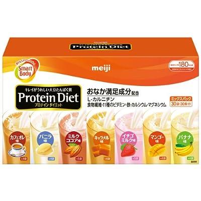 ▶明治プロテインダイエットミックスパックをポチる!