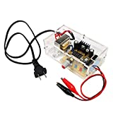 US Regulated Power Supply LM317 1.25V-12V Continuously Adjustable Regulated Voltage Power Supply Board DIY Kit With Case Module PCB Board Electronic Kits