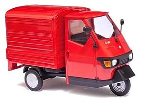 Amazon.com: 1/43 Scale Piaggio Ape 50 red: Toys & Games