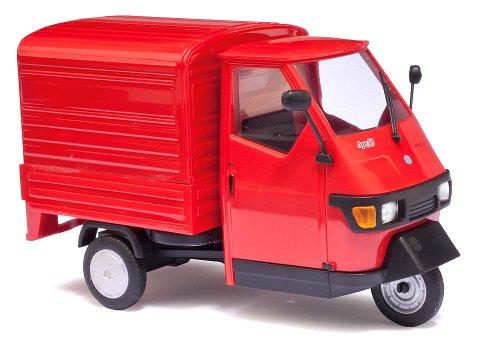 busch-60052-modellino-piaggio-ape-50-scala-143-colore-rosso