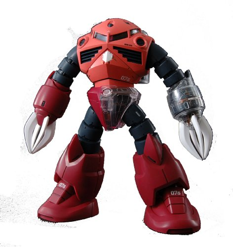Gundam MSM-07S Z'Gok Char Custom with Extra Clear Body parts MG 1/100 Scale
