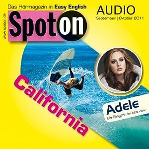 Spot on Audio - California. 9-10/2011 Hörbuch