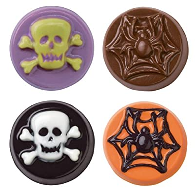 Wilton Skull & Scrolls Cookie Candy Mold