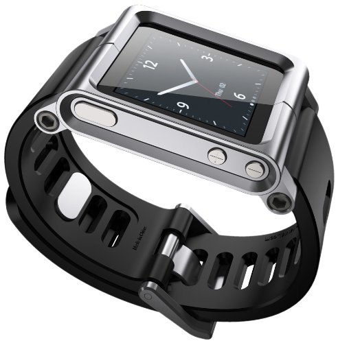 LunaTik Watch Wrist Strap for iPod Nano 6G  Silver Picture