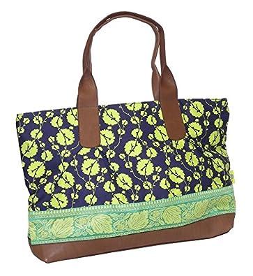 Amy Butler Abina Tote AB104 Color: Cotton Vine Lime: Handbags: Amazon