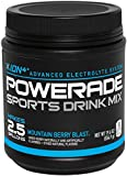POWERADE Powder Mountain Berry Blast, 8 pk, 19.6 OZ, makes 2.5G