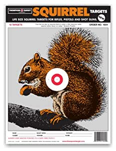 Shocking image intended for printable squirrel target
