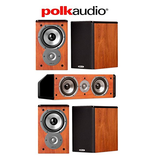 Click Photo To Check Price Polk Audio 50 Speaker System With 4 TSi100 Bookshelf