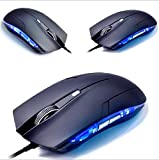 Ergonomic Wired 6 Buttons 1600 DPI Optical USB Game Mouse For PC Laptop