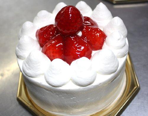 卵・小麦・乳製品アレルギー対応苺デコレーションケーキ 【3号 9cm バースデーケーキ 誕生日ケーキ】::113