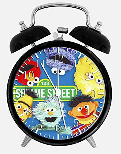 New Sesame Street Alarm Desk Clock 3.75 Room Decor X08 Will Be a Nice Gift
