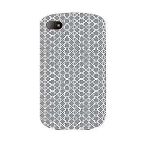 Skin4gadgets BLACK & WHITE PATTERN 8 Phone Skin for Q10