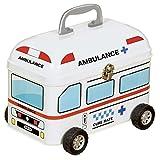 [くるまの救急箱] キュアメイトティンカー 救急車/ホワイト G-2361A