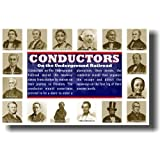 Conductors on the Underground Railroad, Poster