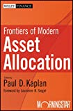 Frontiers of Modern Asset Allocation (Wiley Finance)