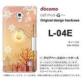 docomo Optimus G Pro L-04E ケース Optimus G Pro L-04E カバー ケース・ジャケット【スノー234/l04e-PM234】