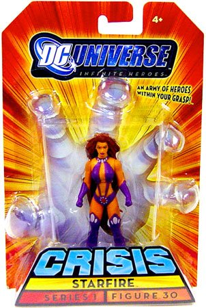 DC Universe Infinite Heroes Crisis Series 1 Action Figure #30 Starfire - 1