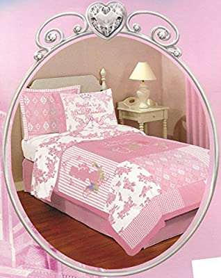 Disney Princess 'Fairy Tale' Twin Size Bedding set - 5pcs Bed in a Bag