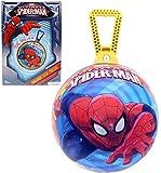 Mondo - 6962 - Jeu de Plein Air - Ballon Sauteur Ultimate - Spiderman 360°