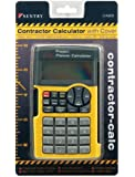 Sentry Contractor Calculator with Cover, Black/Yellow (CA600)