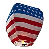 Stars and Stripes Wish Lanterns - 5 Pack