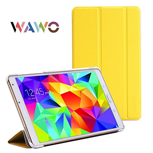 Wawo Samsung Tablet Fold Case (For Galaxy Tab S 8.4, Yellow) front-102976