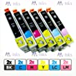 Multipack x2 Sets T0487 of 6 Compatible Inks for Stylus Photo R200 R220 R300 R320 R330 R340 RX500 RX600 RX620 RX640 Printer Ink Cartridges Latest Chip High Capacity Inks In Stock