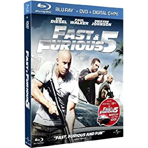 Fast & Furious 5 [Combo Blu-ray + DVD]