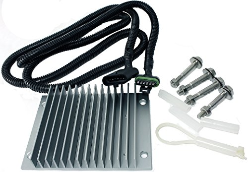 APDTY 015224 Fuel Pump Driver Module PMD / FSD Relocation Kit For Chevy/GMC 6.5L Diesel (Includes Oversized Heat Sink & 65 Inch Wiring Harness Extension With Plug And Play OE Style Connectors) (For Use With APDTY 015215 or GM 19209057) (Pmd Module For Chevy Diesel compare prices)