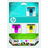 HP - Hewlett Packard PhotoSmart C 7280 (363 / CB 333 EE#301) - original - Inkcartridge multi pack (cyan, magenta, yellow) - 1.270 Pages - 13,5ml