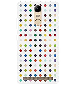 Chiraiyaa Designer Printed Premium Back Cover Case for Lenovo K5 Note (cots pattern) (Multicolor)