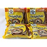 Nestle Toll House Delightfulls Filled Baking Morsels 9oz Bag (Pack of 4) Select Flavor Below (Milk Chocolate with Peanut Butter Filling)