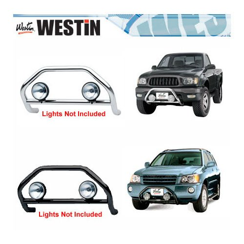 Safari Light Bar For - Nissan - Frontier - 1998-2000 - Polished Stainless Steel